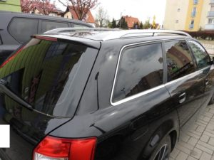Audi A4 przyciemnianie szyb