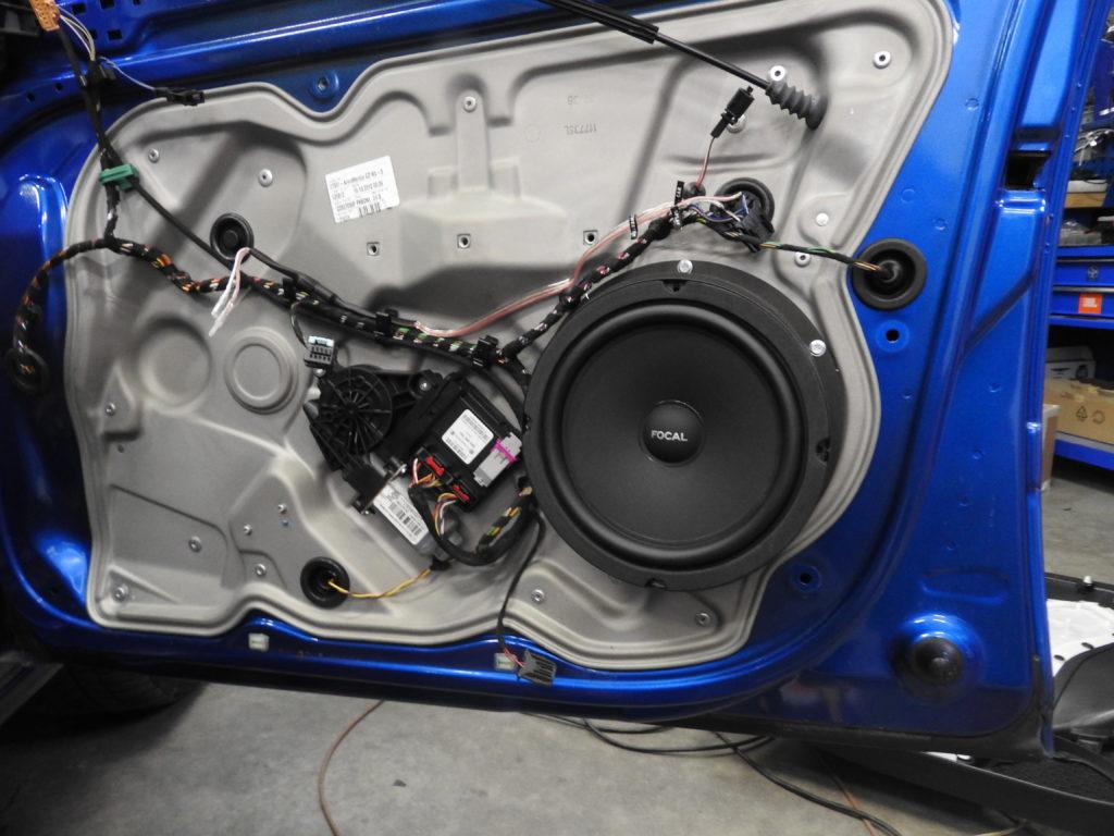 Głośniki samochodowe - montaż