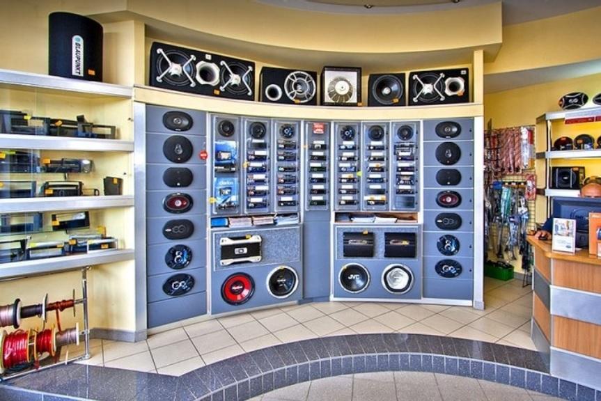 Radio samochodowe - sprzedaż