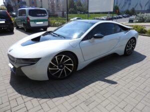 BMW I8 - przyciemnienie szyb