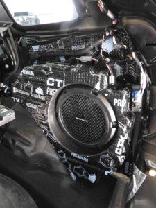 Jeep Grand Cherokee - wygłuszenie komory subwoofera