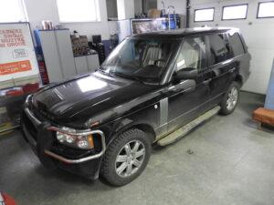 Range Rover - wymiana nagłośnienia