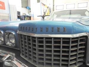 Ford Thunderbird - montaż nagłośnienia