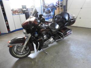 Harley Davidson - wymiana nagłośnienia