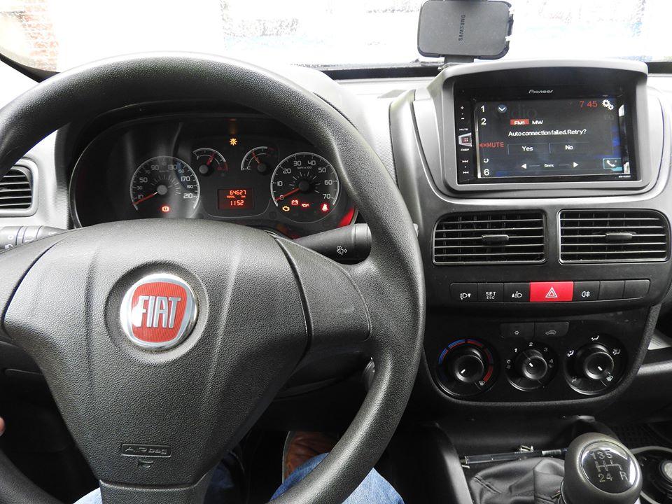 Fiat Doblo - Pioneer MVH-AV280BT