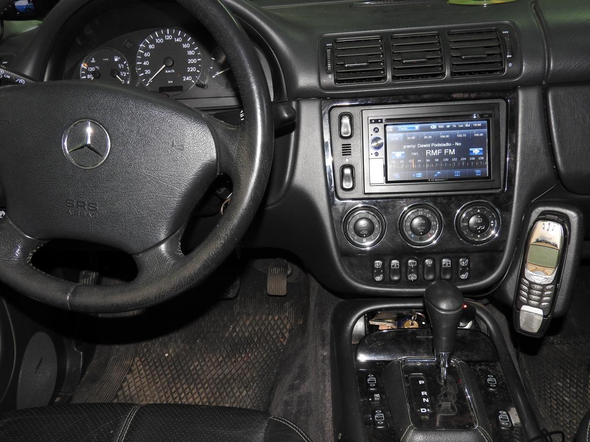 Mercedes ML - Blaupunkt New York 845