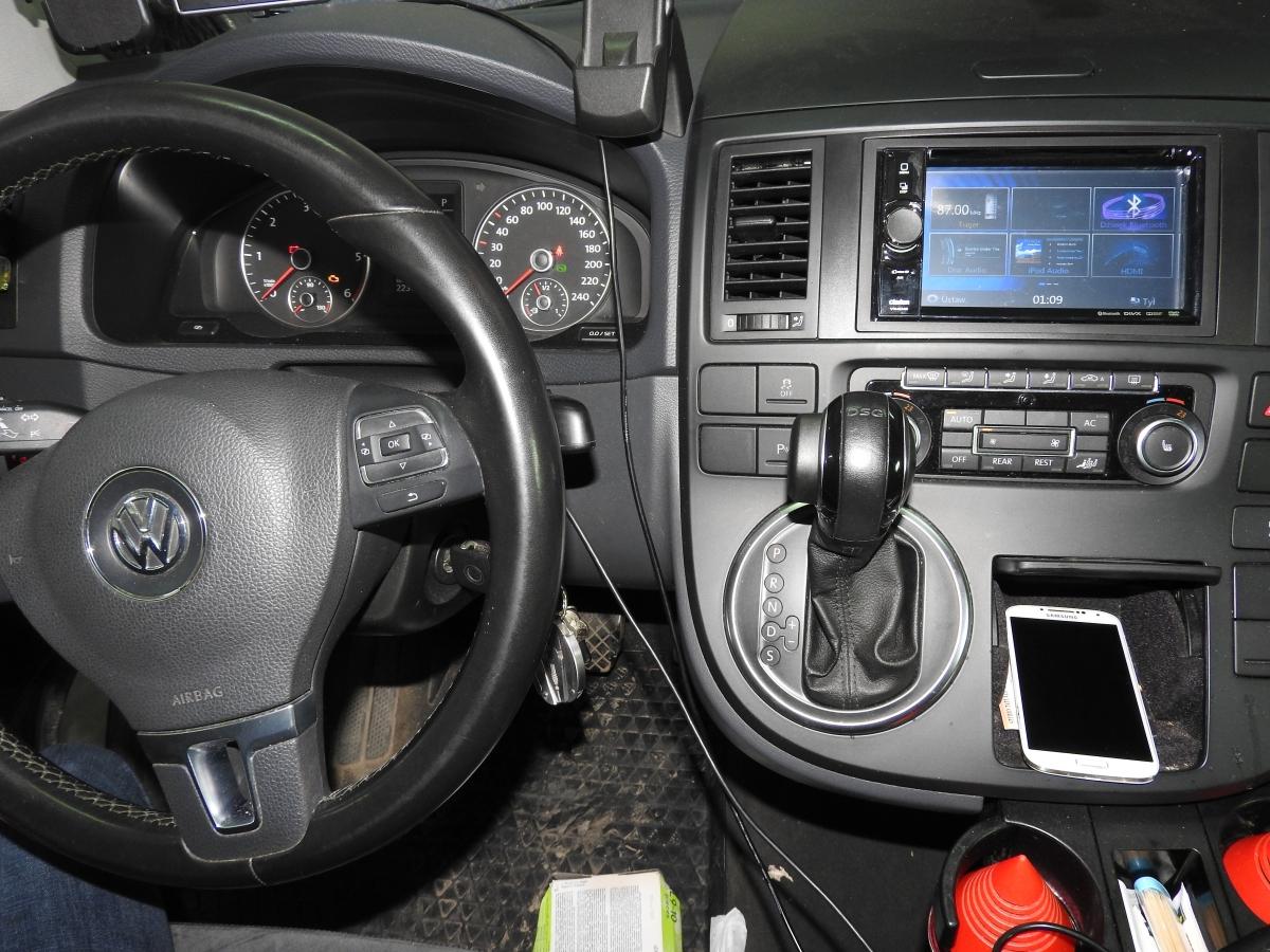 VW T5 - Clarion VX404E