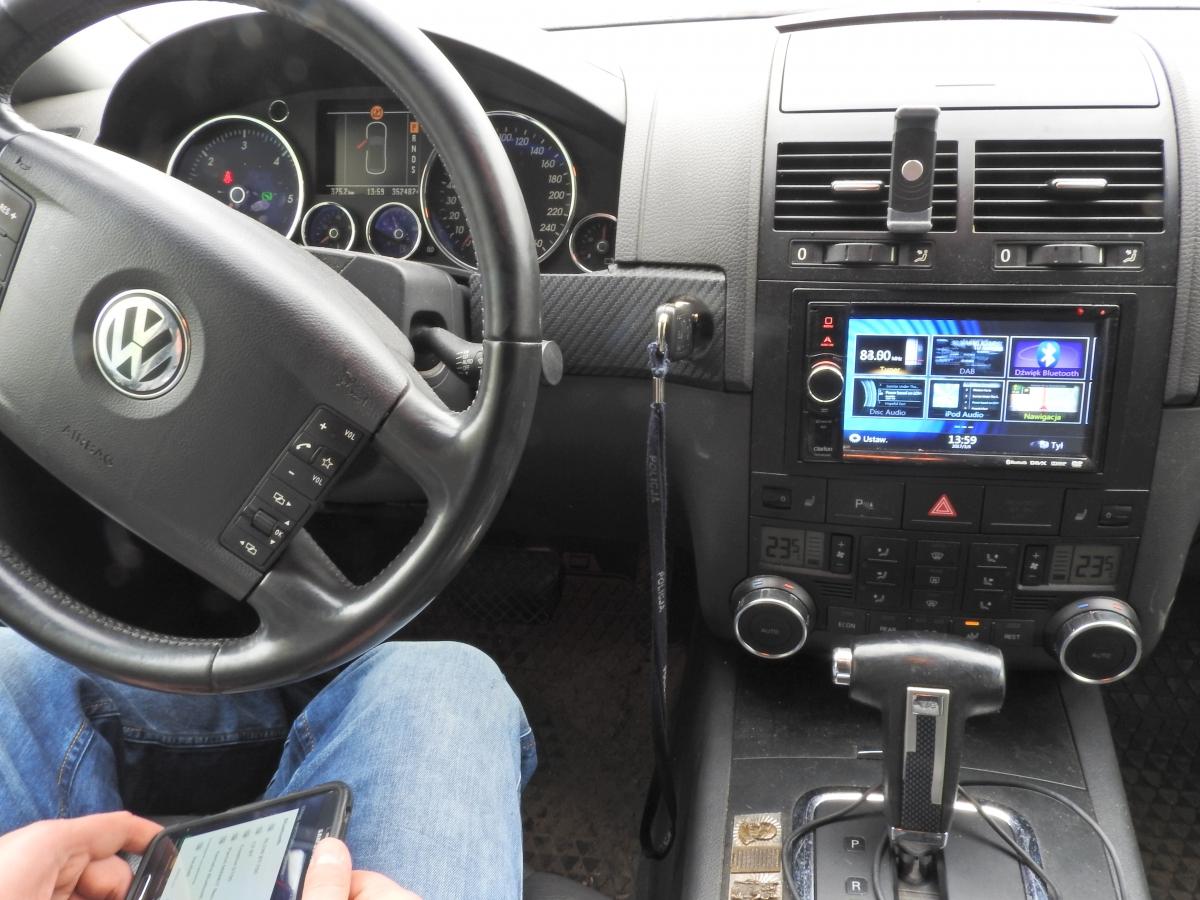 VW Tuareg - Clarion NX-404