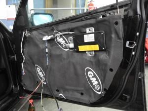 BMW E46 - całkowite wygłuszenie drzwi