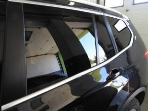 BMW X3 - Przyciemnianie Szyb