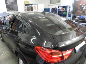 BMW X4 - Przyciemnianie Szyb