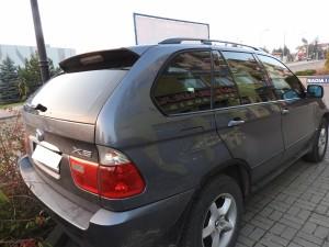 BMW X5 - Przyciemnianie Szyb