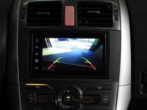 Toyota Auris - Zrzut obrazu z kamery cofania w stacji multimedialnej GMS 6818