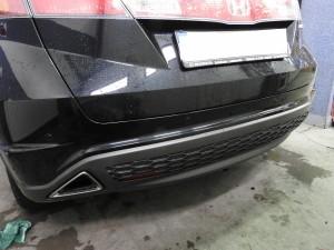 Honda Civic - Czujniki parkowania