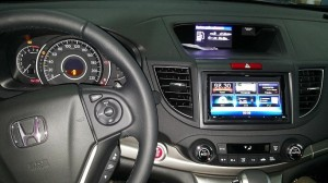 Honda CRV - Clarion