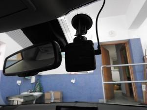 Lexus - montaż wideorejestratora Mio na stałe
