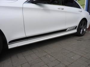 Mercedes - Oklejenie tuningowe