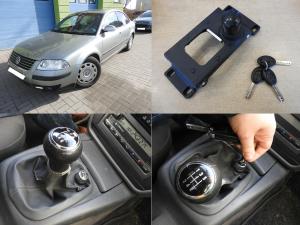 VW Passat B5 - montaż blokady skrzyni biegów
