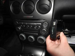 Mazda 6 - montaż emulatora zmieniarki
