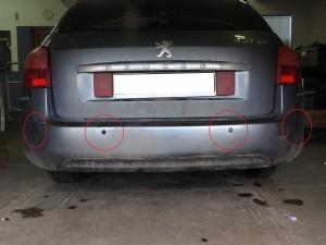 Peugeot 407 SW - wymiana zepsutych czujników na nowe Vertex