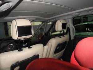 Renault Espace - monitory w zagłówkach i DVD Audiomedia