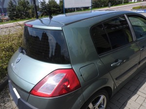 Renault Megane - Przyciemnianie Szyb