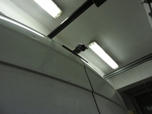 Tył dachu Mercedes Sprinter