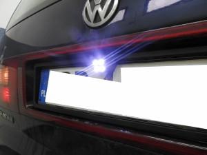 VW Sharan - kamera podświetlenie LED