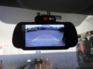 Kamery cofania, Czujniki parkowania